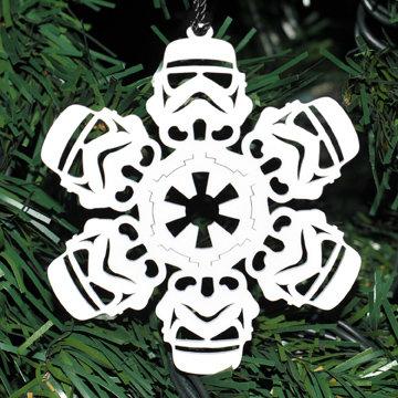 Stormtrooper Homage Snowflake