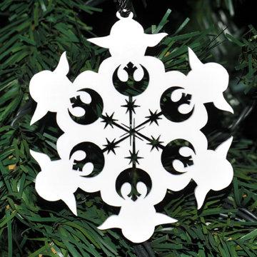 Yoda Homage Snowflake