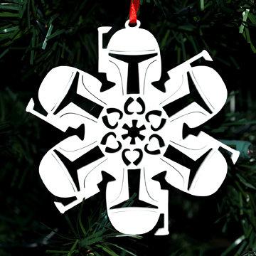 Boba Fett Homage Snowflake
