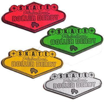 Skate Fabulous Roller Derby Magnet