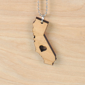CA Love - wood
