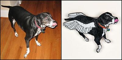 Pet Angel Memorial Art