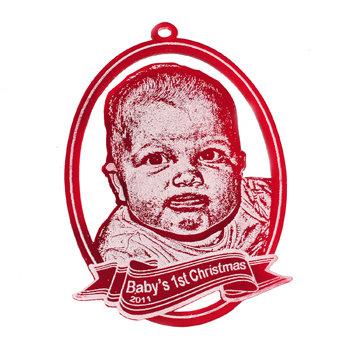 "3"" Custom Photo Ornament - Acrylic"