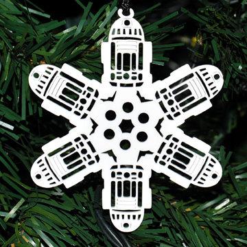 R2D2 Homage Snowflake