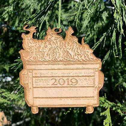 2019 Dumpster Fire Ornament