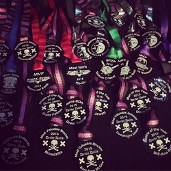 Roller Derby League Award Medals