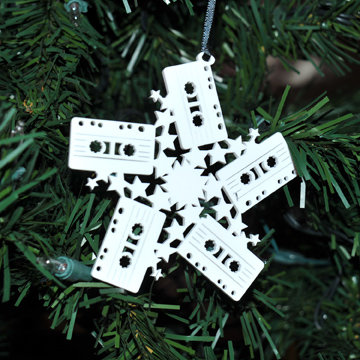 Mix Tape Snowflake