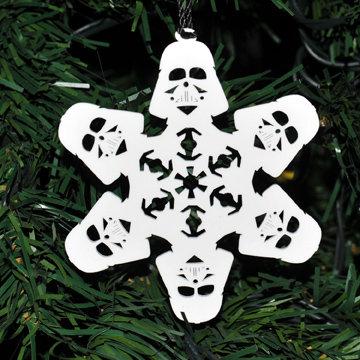 Darth Vader Homage Snowflake