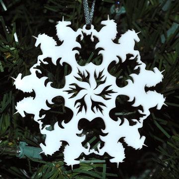 Last Unicorn Snowflake