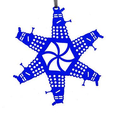 Dalek Homage Snowflake