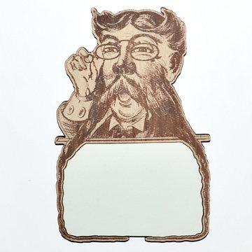 Dapper Gentleman Dry Erase Magnet