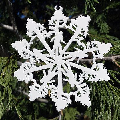 Big Foot Snowflake
