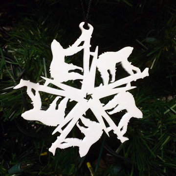 Sloth Snowflake