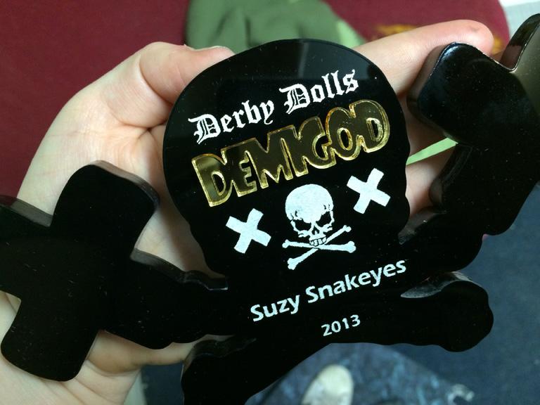 LA Derby Dolls Demigod Award