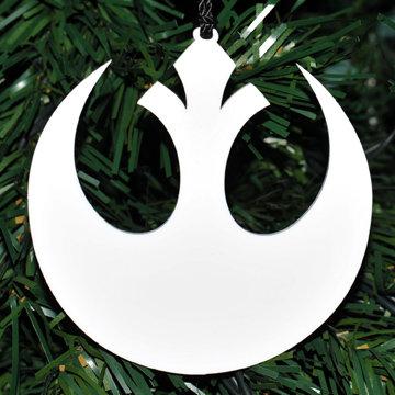 Rebel Alliance Homage Snowflake