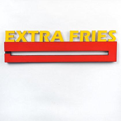 Extra Fries Medal Display