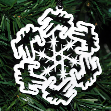 X-Wing Fighter Homage Snowflake