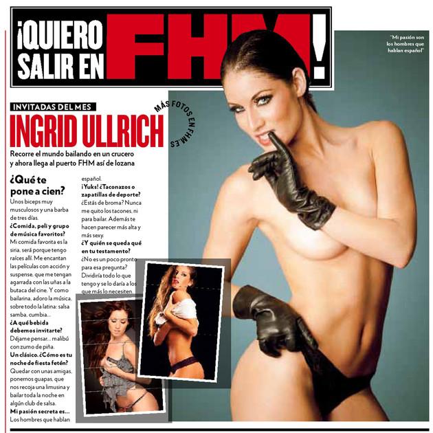 FHM Spain Feature Magazine