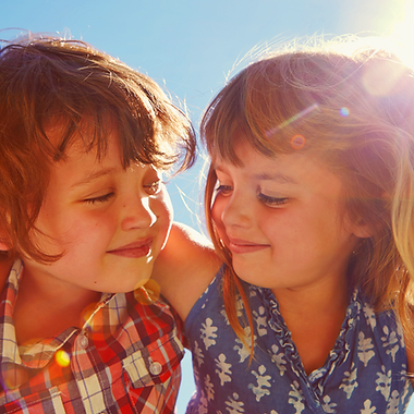 Enfants heureux