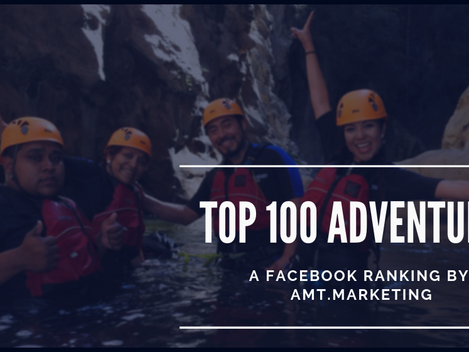 "AMT.MARKETING ANNOUNCES LATEST ""TOP 100 ADVENTURES"" IN MEXICO AT ADVENTUREMEXICO.TRAVEL"