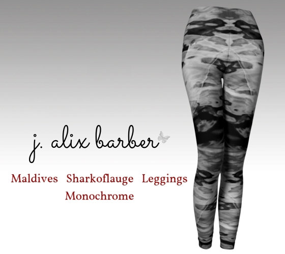 J.A. Be the Change - Maldives Sharkoflauge Leggings