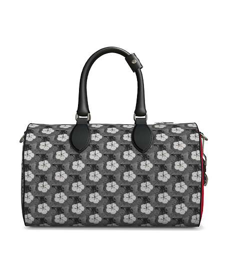 "The S.L.R. Top Handle Duffle in ""Petal Pusher"""