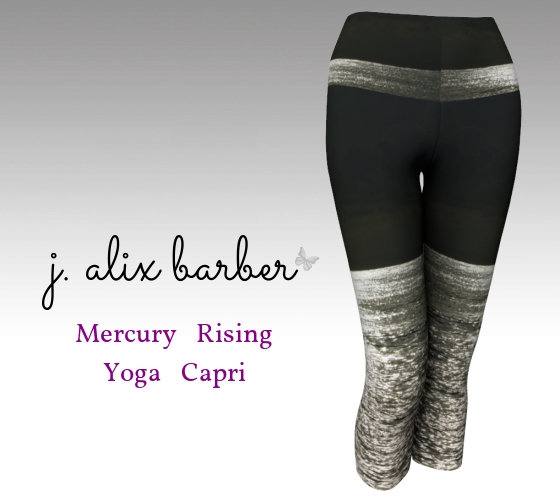 J.A. Be the Change - Mercury Rising Yoga Capri