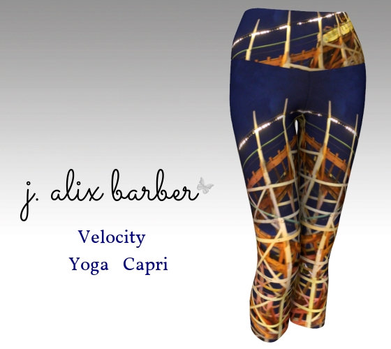 J.A. Be the Change  - Velocity Yoga Capri