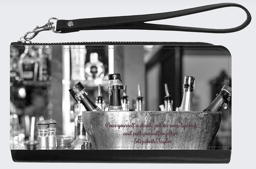 "The Jules Wristlet - ""Brasserie"""