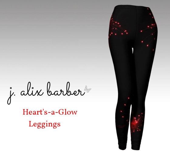 J.A. Be the Change - Heart's A Glow Leggings