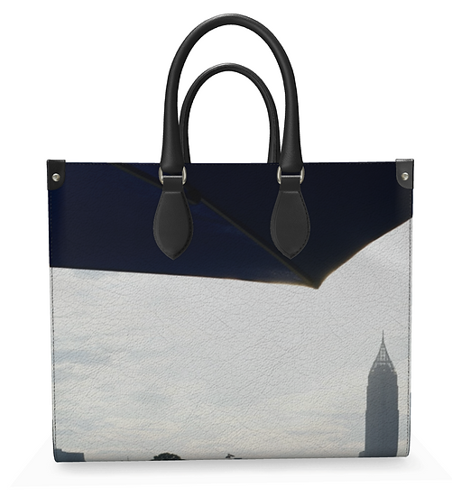 """The Judith Elizabeth Leather Shopper  in """"From The Beltline"""""""
