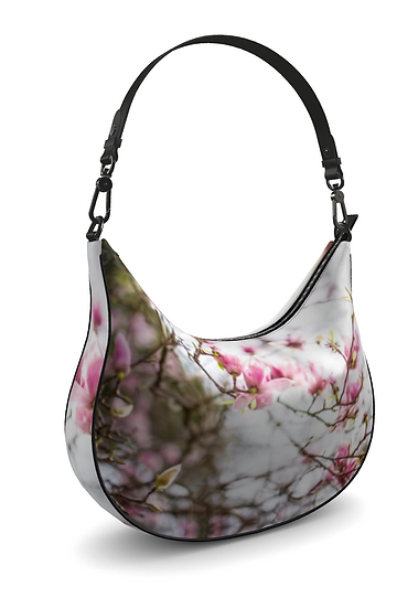 "The M. Brown Town Curvy Hobo in ""Magnolia Jane"""