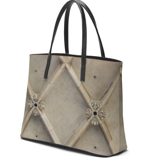 "The Betty Jane Roth Leather Tote in ""Structure"""