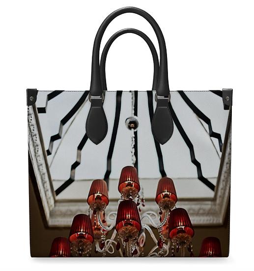 "The Judith Elizabeth Leather Shopper in ""Amalfi"""