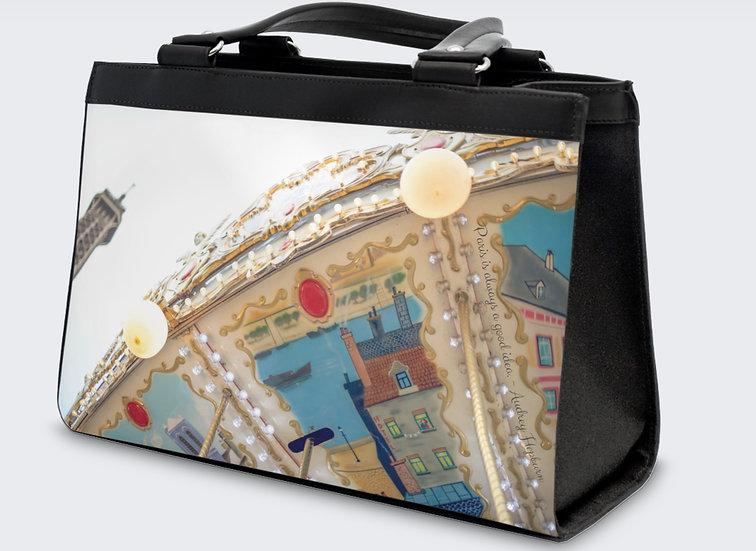 "The Jocelyne Classic Handbag in ""Parisel"""