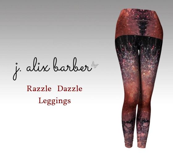 J.A. Be the Change - Razzle Dazzle Leggings