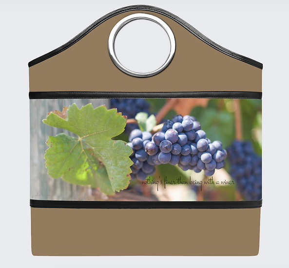 """The Handled Tote in """"Pinot Noir"""""""