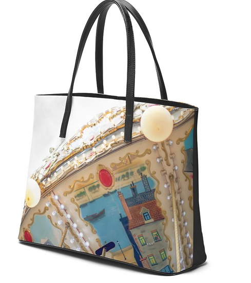 """The Betty Jane Roth Leather Tote in """"Parisel"""""""