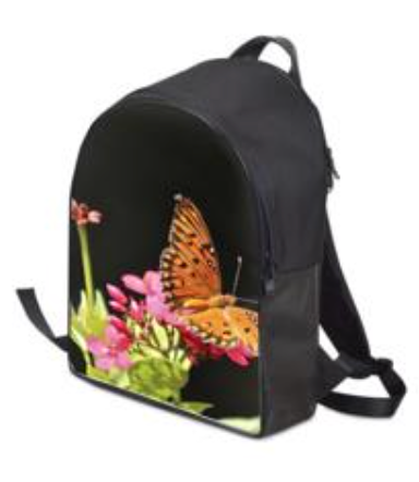 """Le Bureau Backpack - Shown in """"Be the Change"""""""
