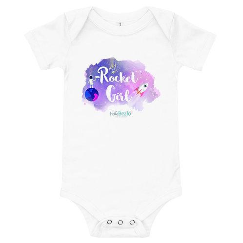 Rocket Girl Baby Onesie