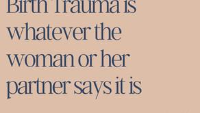 Birth Trauma Awareness Week