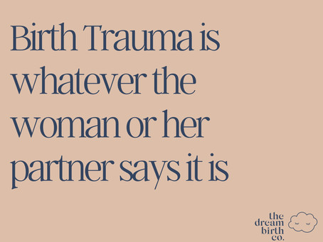 Birth Trauma Awareness Week