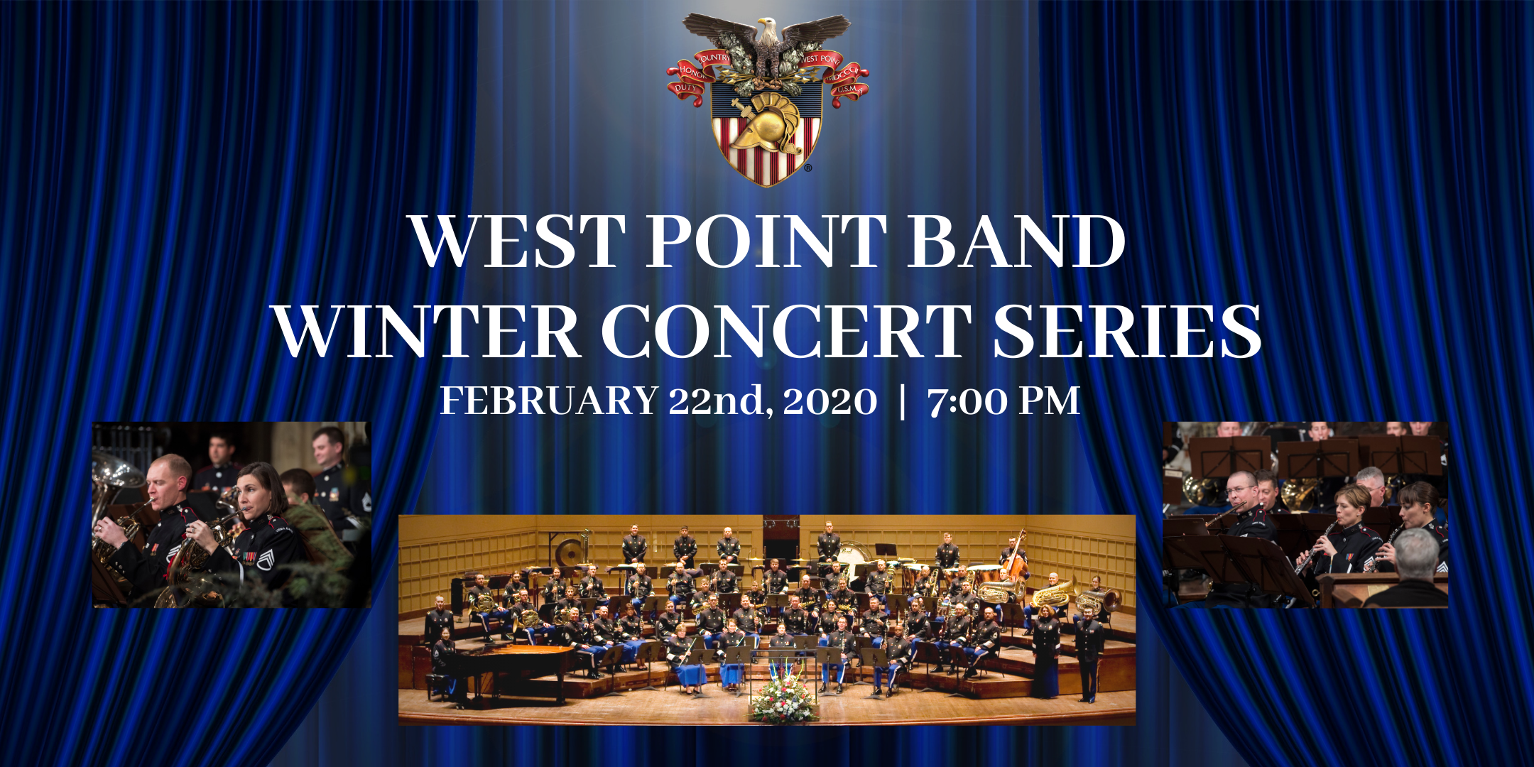 Today Show Concert Series 2020.West Point Band Winter Concert Series