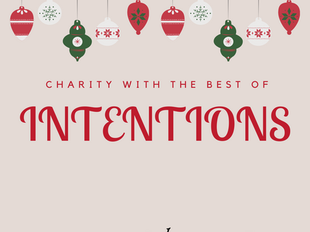 Cultivating Respect: Charity with the best of intentions