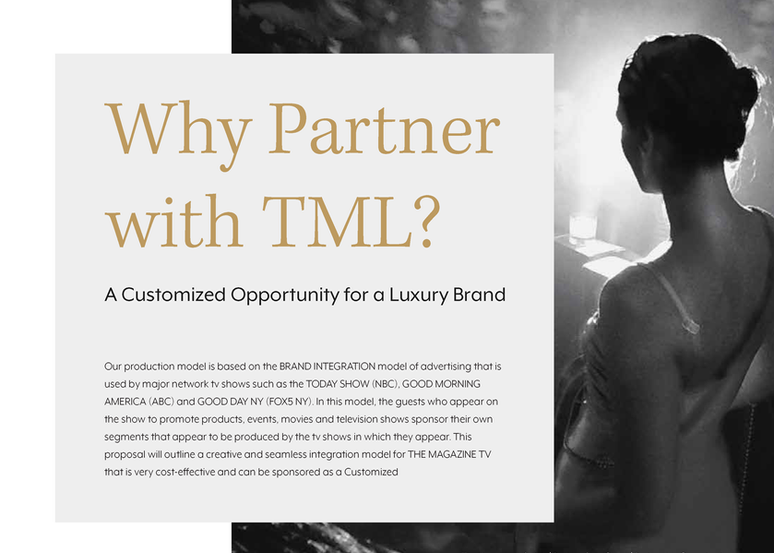 TML-Rocking for a Cause-Partnership Deck