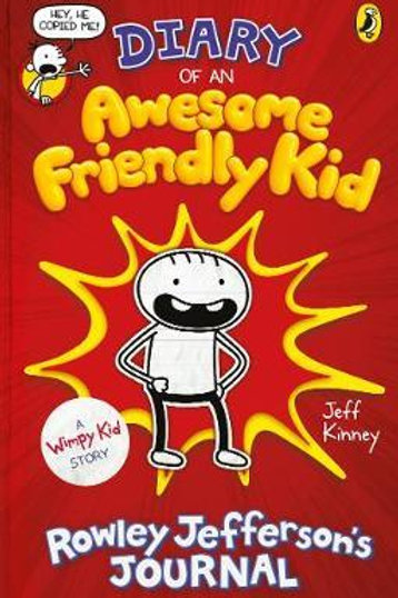 Diary Of An Awesome Friendly Kid Jeff Kinney