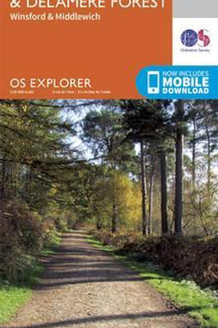 EXP 267 Northwich & Delamere Forest  ,