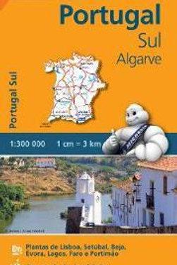 Portugal Sul Algarve REGIONAL Map 593  ,