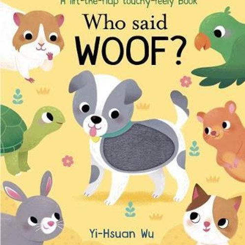 Who Said Woof?  N\A