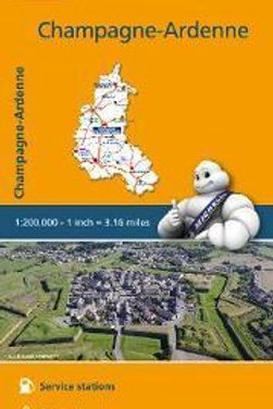 Champagne Ardenne Map  ,
